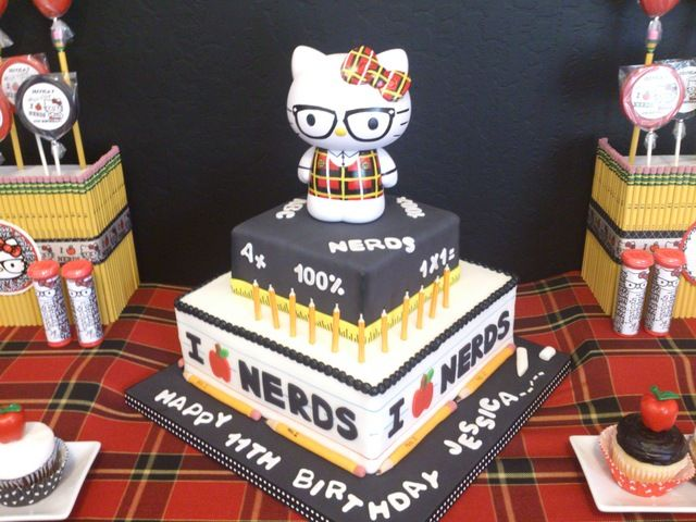 34 Best Nerdy Thirty Party Images On Pinterest Amazing Cakes