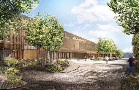 Swiss architectsHerzog & de Meuronhave won a competition to design a children's hospital and a teaching/research centre inZurich, Switzerland.