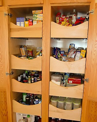 Built In Kitchen Pantry Ideas: 17 Best Ideas About Built In Pantry On Pinterest