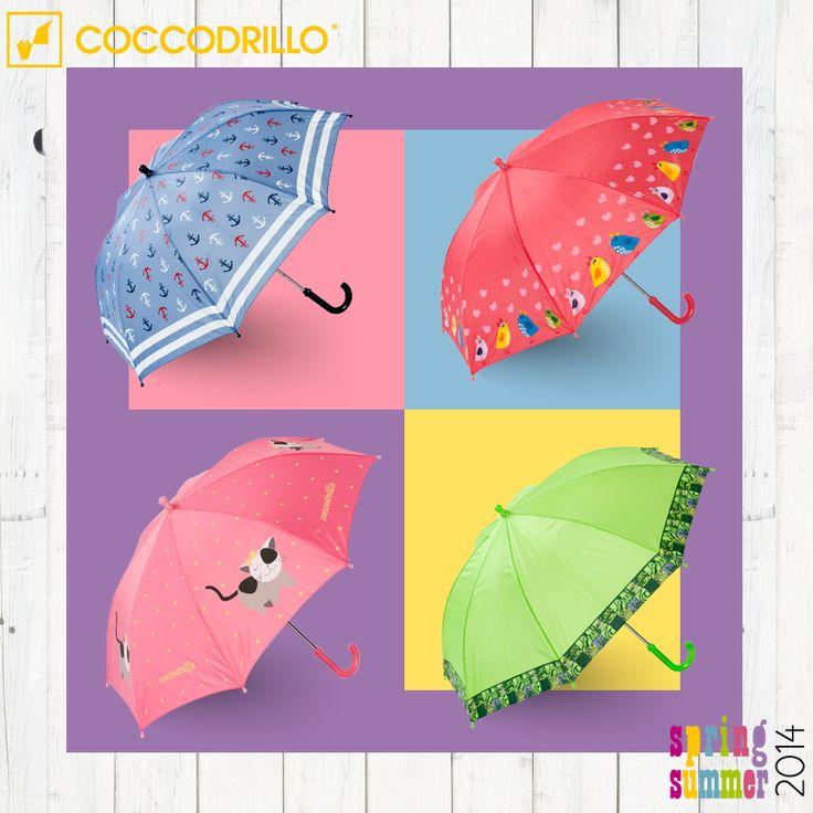 COCCODRILLO - Parasole dla dziewczynek i chłopców.