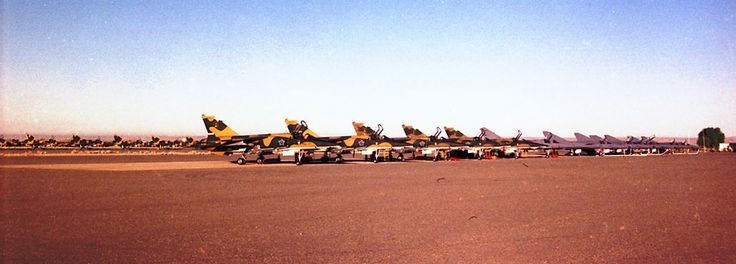☆ South African Air Force ✈  1 Sqn Mirage F1AZ's and  5 Sqn Cheetah E's and in the background  2 Sqn's Mirage III CZ and RZ's