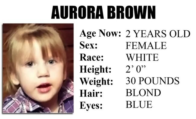 Missing child alert late due to computer glitch.Two year old Aurora Brown went missing from Oriskany Falls on May 25th, but the public didn't learn about it until yesterday Nov.13th - News - Uticaod - Utica, NY