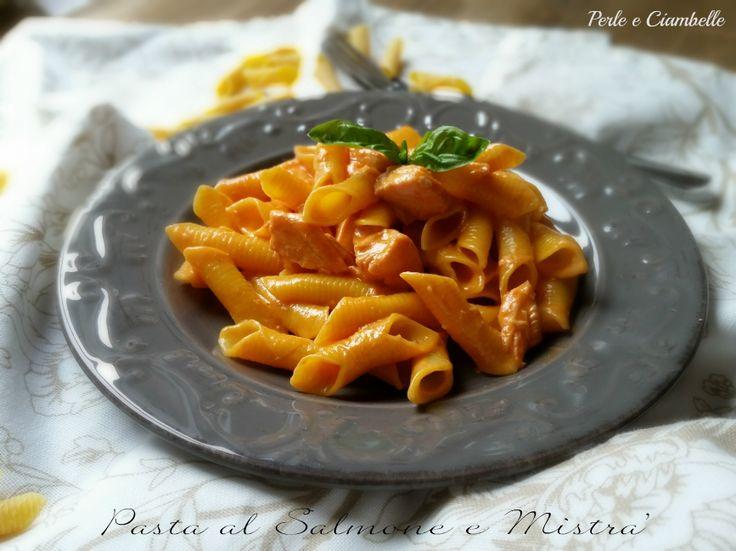 #Pasta #LucianaMosconi al Salmone e Mistrà. #Natale #Christmas #OggiLucianaMosconi