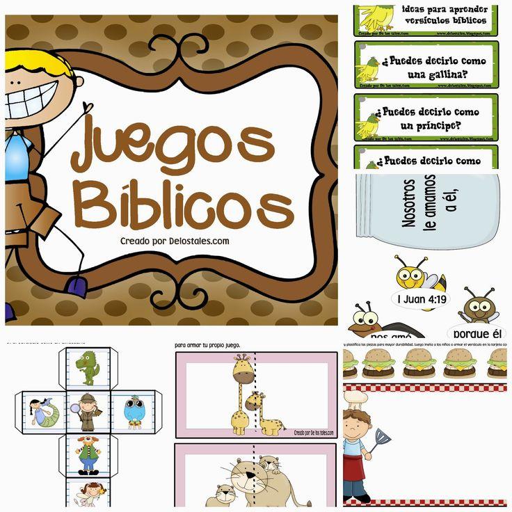 De los tales: Juegos Bíblicos