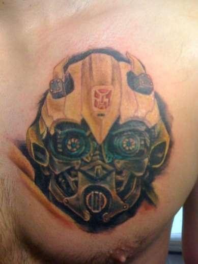 Bumblebee, Transformers tattoo  I love this