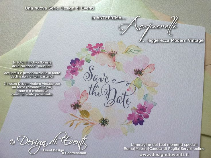 Aquerelli-partecipazioni-inviti-save-the-date-calligrafia-modern-vintage-floreale-provenzale-parigi-tendenza-rosa-pesco-verde-menta-lime.jpg (1000×750)