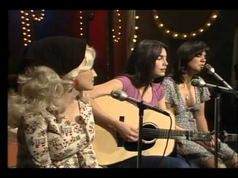 """Dolly Parton, Linda Ronstadt, and Emmylou Harris sing """"The Sweetest Gift"""". I just LOVE their voices together - the harmonies are fabulous."""