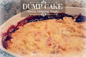 Pampered Chef Microwave Dump Cake