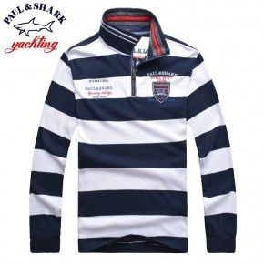 LONG SLEEVED Paul and Shark Men Polo Shirts Best Price 7088