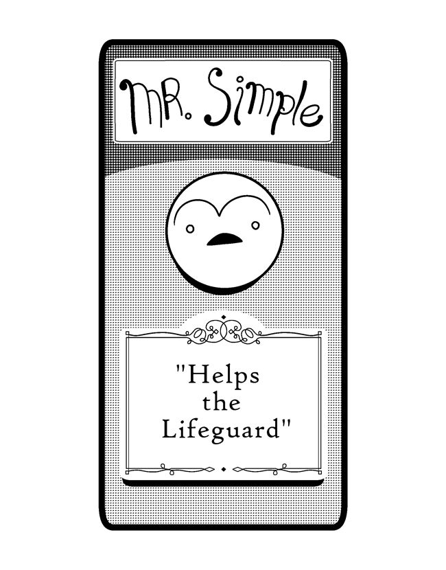 Mr. Simple Helps the Lifeguard