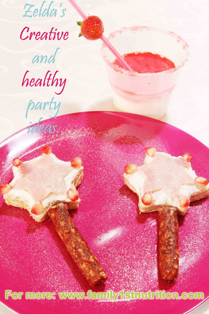 Who said healthy eating should be boring, uninteresting and tasteless? Fun filled, healthy and tasty kids parties!