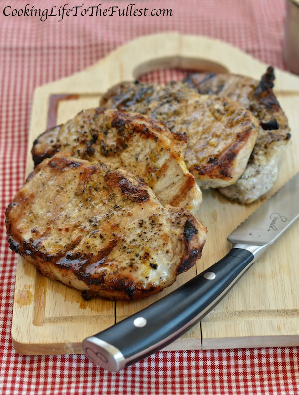 Zesty Lemon-Pepper Pork Chops