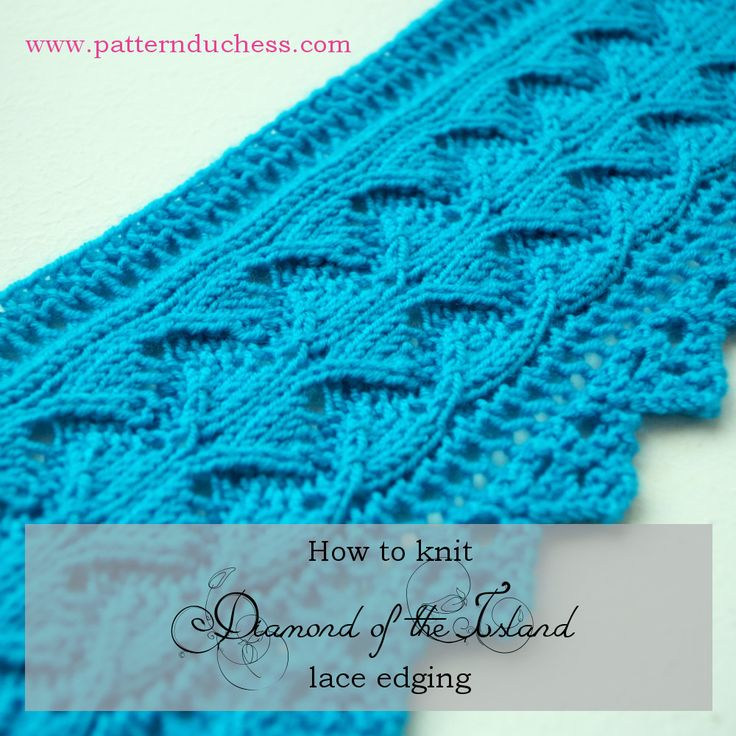 60 best images about Knitting: edge treatment on Pinterest ...