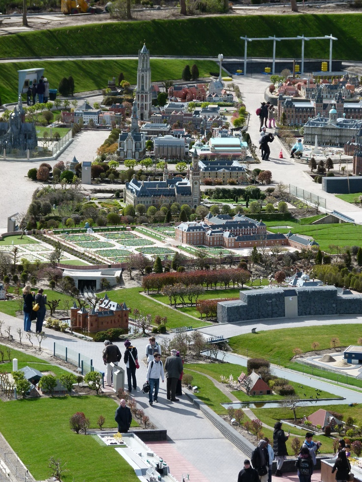 Visitors in the new Madurodam, after the reopening in April 2012; The Hague (Photo courtesy: Den Haag Marketing)