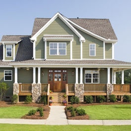 Farmhouse Exterior Design Ideas, Pictures, Remodel, and Decor - page 5