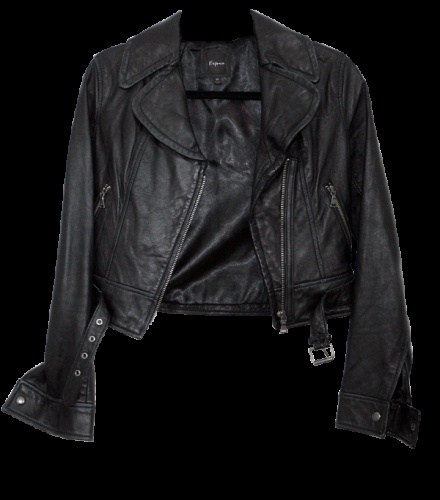 Tinkerbell leather jacket