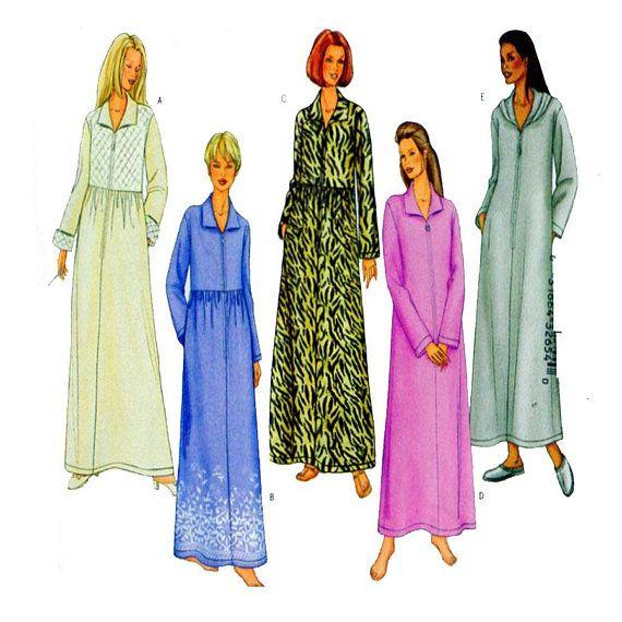 Butterick 6881 House Coat House Dress Robe Sleepwear