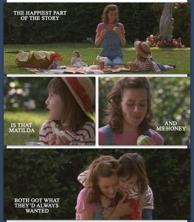 I pinned this because... Matilda