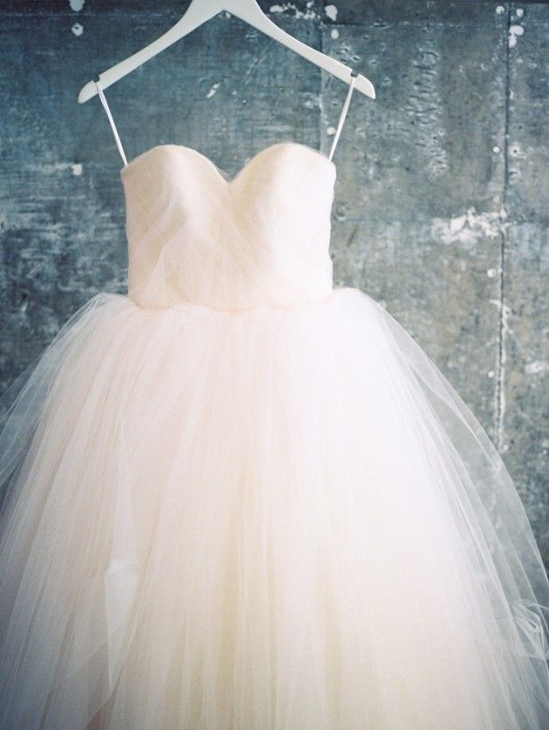 Stacy and Edwin's Wedding at Fig House, tulle wedding dress