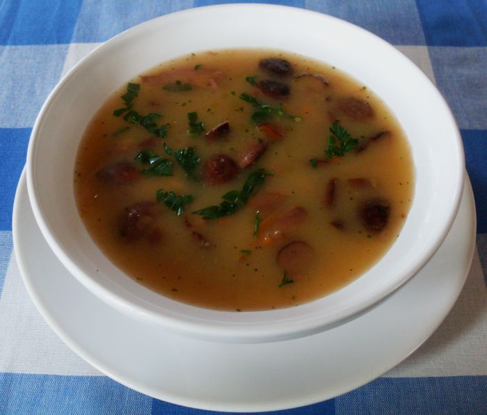 Great soup of the best Polish mushrooms...