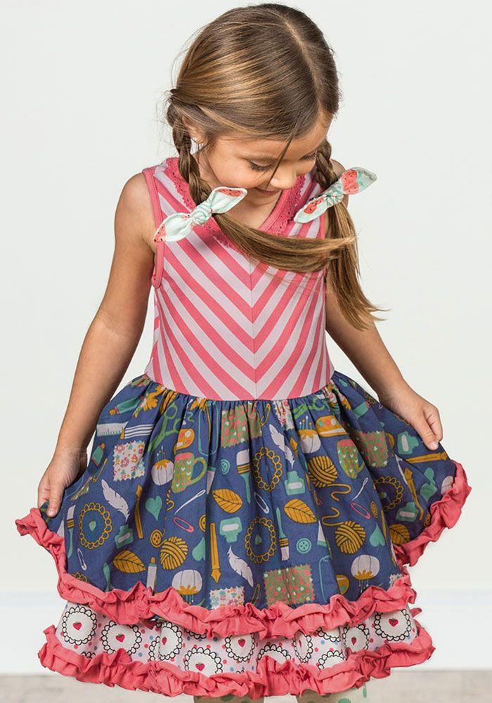 eb2dc1be857 Work of Heart Dress - Matilda Jane Clothing