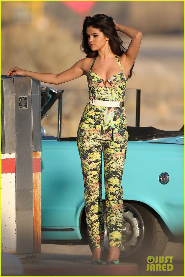 Selena Gomez at a photo shoot in Palmdale, California