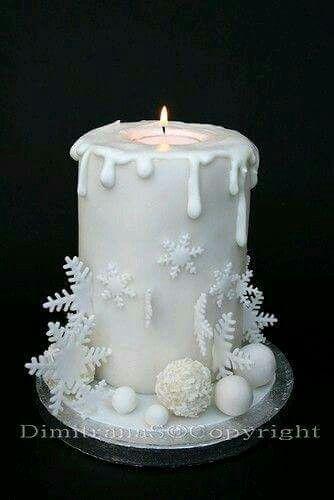 Vela de navidad