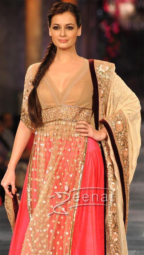 Dia Mirza @DeeSpeak In Gorgeous  @ManishMalhotra1 #Bridal Wear
