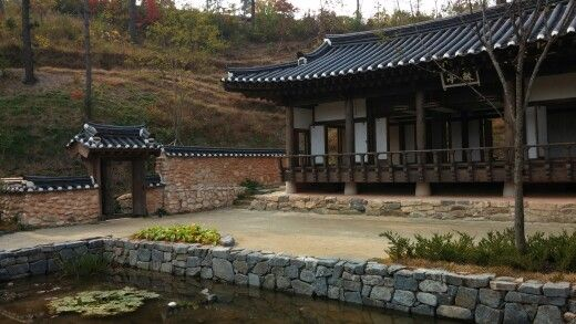 옛날 한국정원