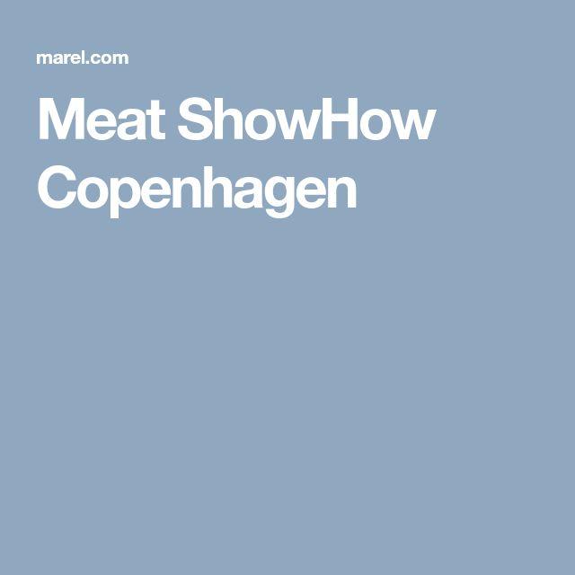 Meat ShowHow Copenhagen