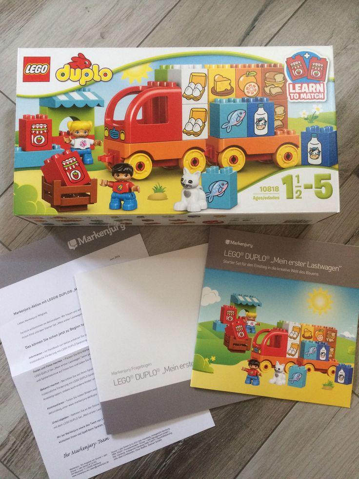 "Lego Duplo ""Mein erster Lastwagen""  #markenjury #LegoDuplo #produkttest"
