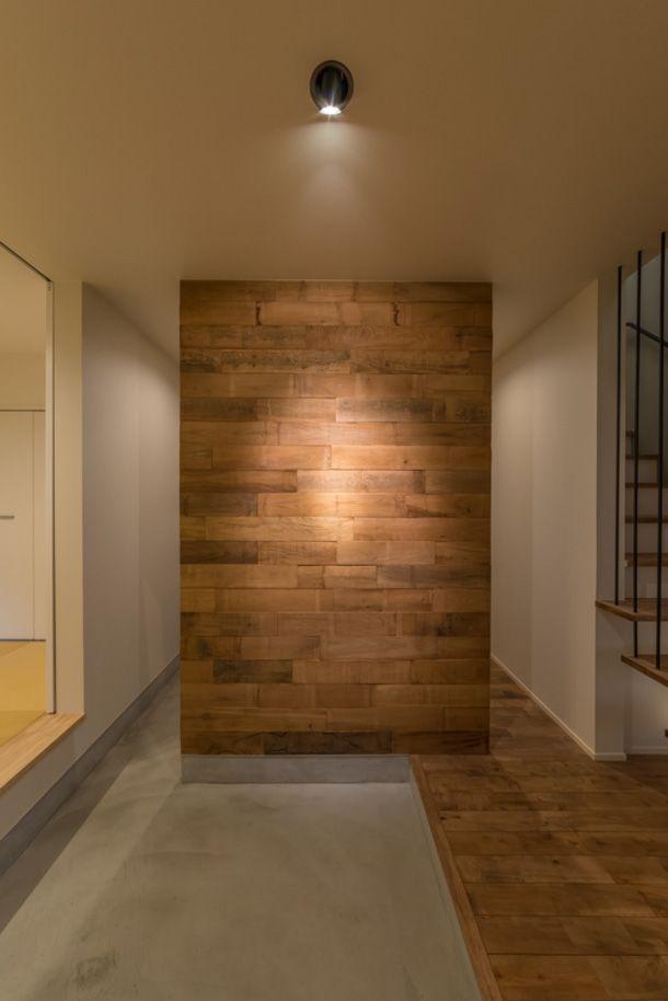 プライベートテラスがある家   注文住宅なら建築設計事務所 フリーダムアーキテクツデザイン