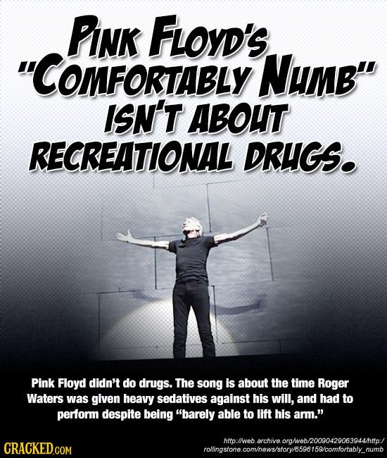 For all those retard stoners who get blitzed while listening to Pink Flyod and have no idea about what the music is truly about