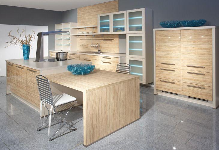 die besten 25 helle holzk chen ideen auf pinterest. Black Bedroom Furniture Sets. Home Design Ideas