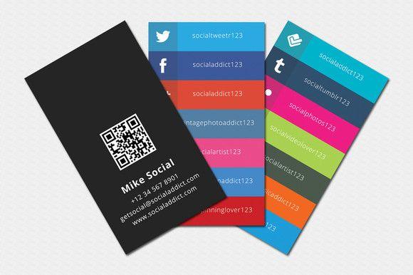 Social Media Business Card Social Media Business Cards Samples And Design Id Social Media Business Cards Media Business Cards Business Cards Creative Templates