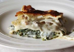 Kale and Mushroom Lasagne ~ River Cottage Veg Every Day!