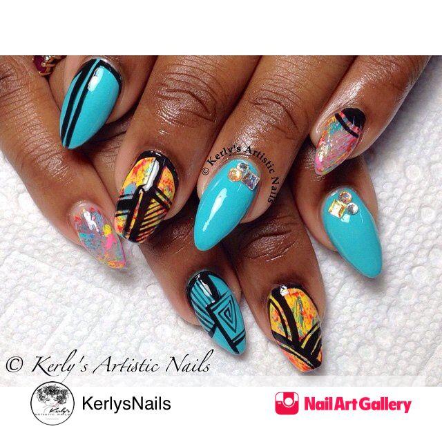 140 best NAs: @kerlys_artistic_nails images on Pinterest | Instagram ...