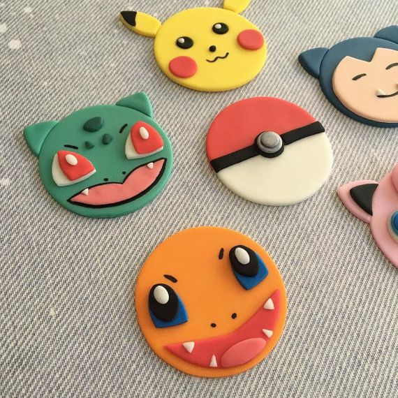 12 Pokemon Go Pikachu Jigglypuff Snorlax Charmander