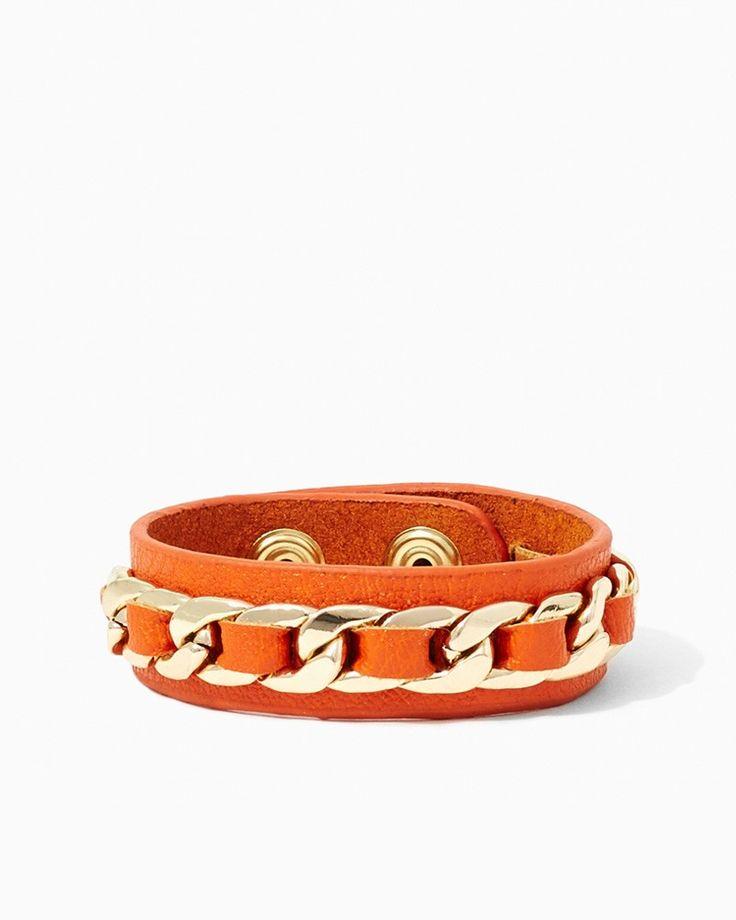 United Links Bracelet   #COTM Harvest Pumpkin  #charmingcharlie