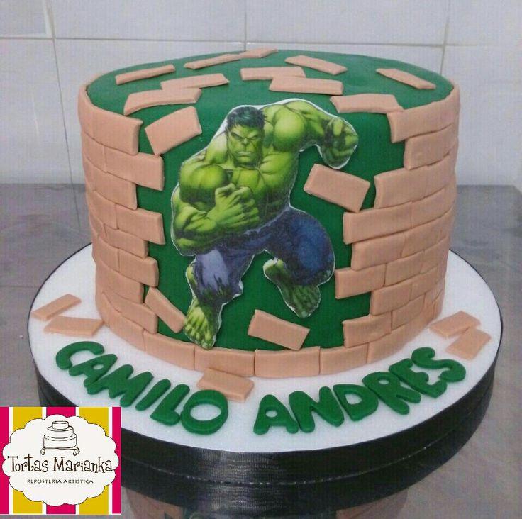 Hulk, hombre increíble, Marianka, verde