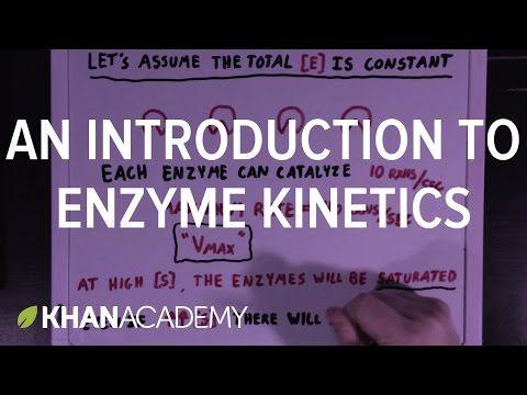 An introduction to enzyme kinetics | Enzyme kinetics | Biomolecules | MCAT | Khan Academy