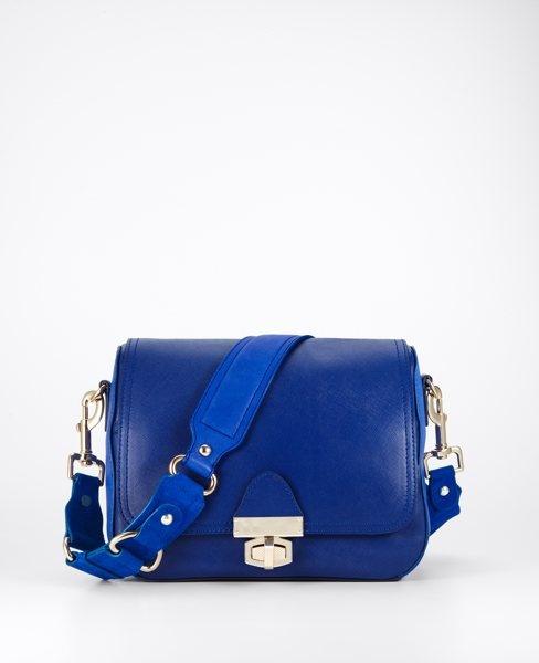 ann taylor: Shoulder Bags, Blue Bags, Cobalt Blue, Cafe Leather, Pretty Colors, Blue Accessories, Anne Taylors, Cafe Pur, Leather Purses