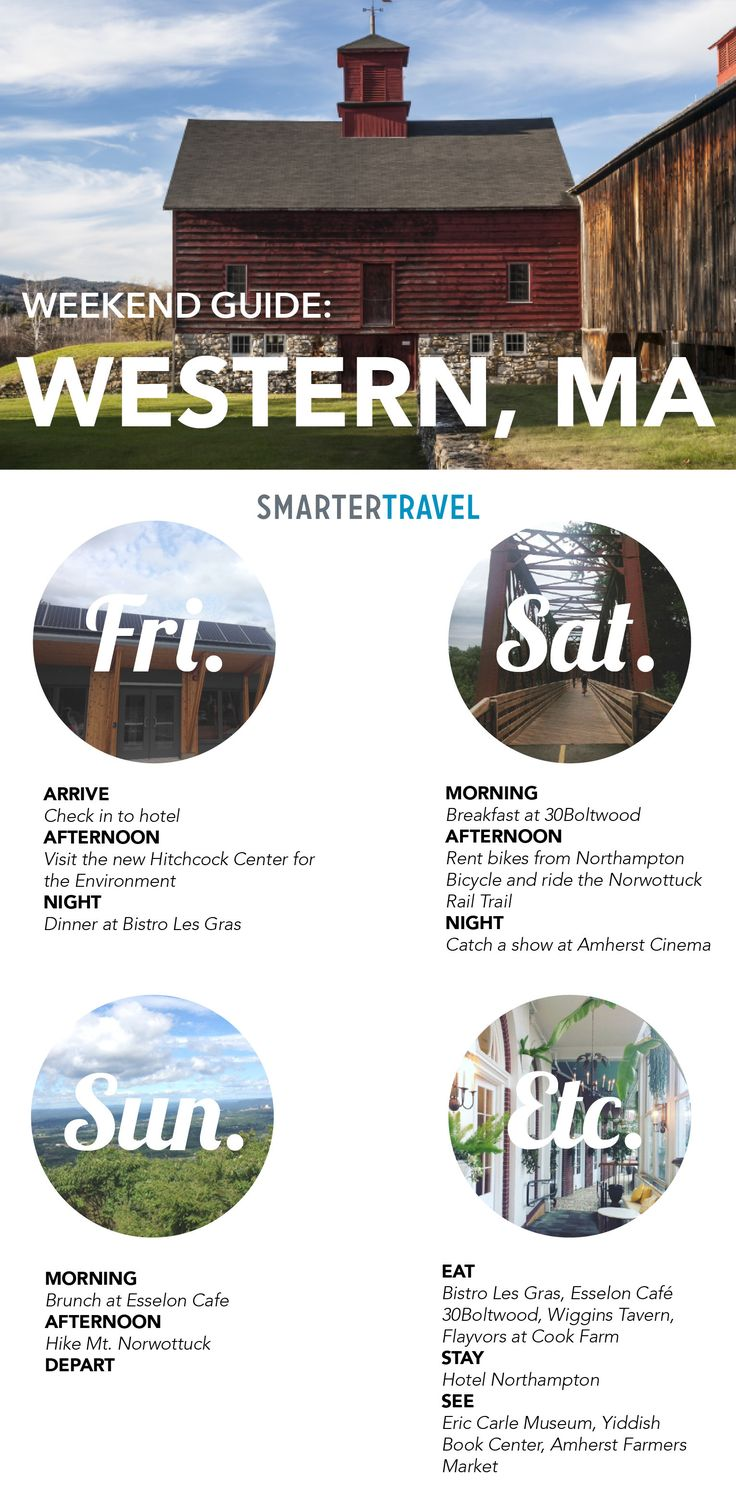 How To Do A Weekend In Western Massachusetts