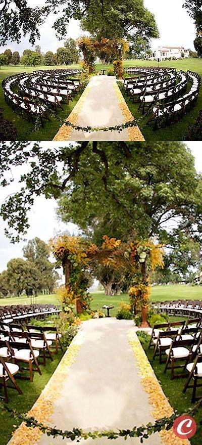 Beautiful Ceremony Decor Inspiration - Aisle Arches