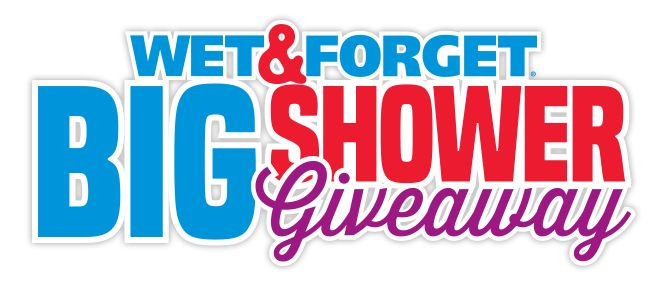 Wet And Forget BIG Shower Giveaway. 8 WEEKS. 8 PRIZES. 8 CHANCES TO WIN BIG. Each week is filled with awesome bathroom and shower prizes, like a free standing contemporary bathtub and a 1-year supply of Wet & Forget Shower Cleaner. Enter today for your c