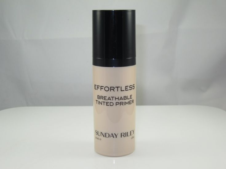Sunday Riley Effortless Breathable Tinted Primer Review & Swatches