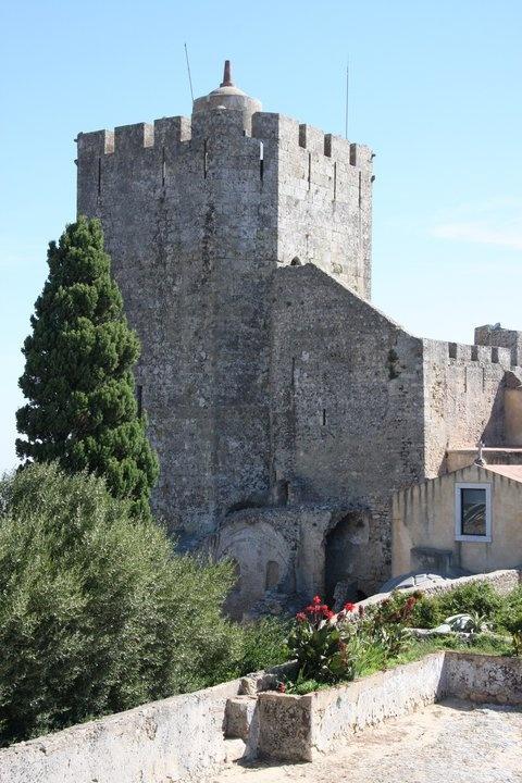 Castelo de Palmela, conquered from the Moors in the 21th century, has incredible views across the Arrábida Natural Park.