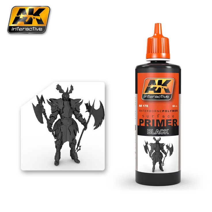 AK178 - Black Primer 60ml