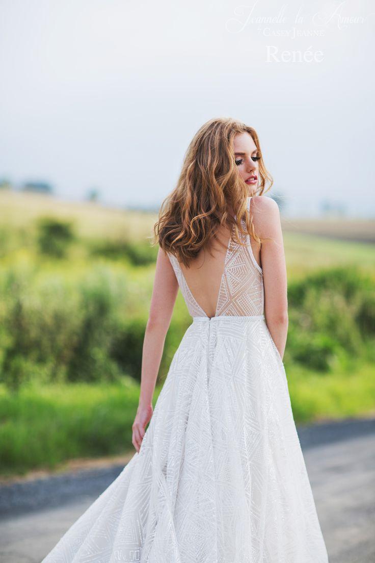 Renee wedding gown for Jeannelle la Amour by Casey Jeanne <3 www.caseyjeanne.com https://www.facebook.com/JeannellelaAmour  https://www.facebook.com/CaseyJeanneAtelier