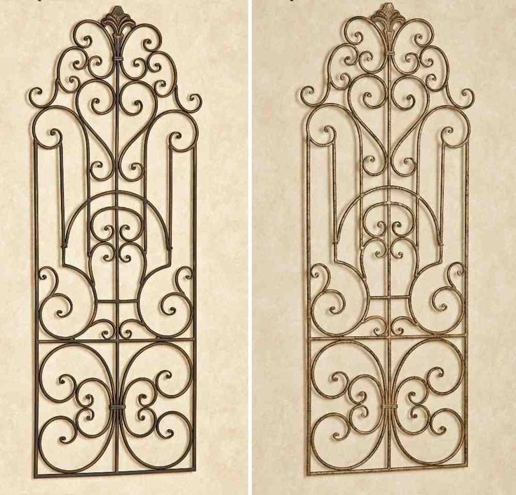 20 best L.I.H. 51 Wrought Iron Wall Decor images on Pinterest ...